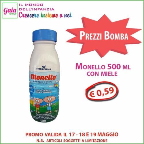Monello latte 500