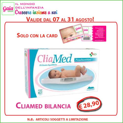 cliamed bilancia card