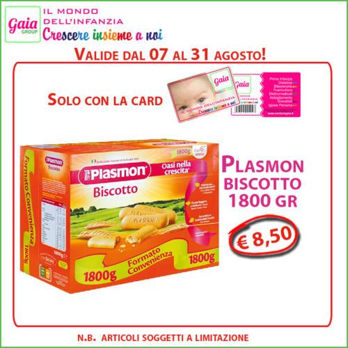 plasmon biscotto card
