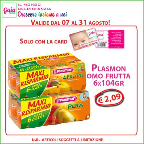 plasmon frutta 6 card