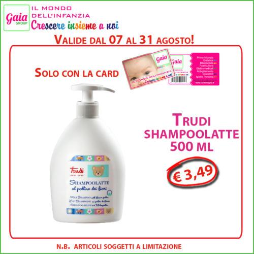 trudi shampoo latte card